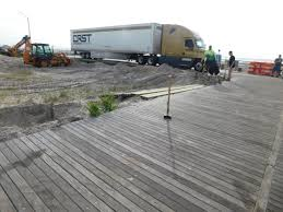 100 Crst Trucks Tractor Trailer Takes 25 Mile Ride Down Atlantic City Boardwalk