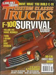 100 Custom Trucks Magazine Amazoncom Classic F100 Survival Guide