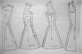 Strapless Dress Template