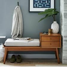 sitzbank flur polster sitz im flur 50er jahre wohnzimmer
