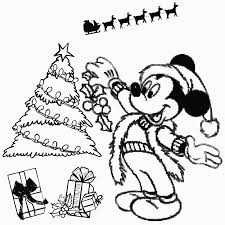 Valuable Design Ideas Mickey Mouse Christmas Coloring Pages