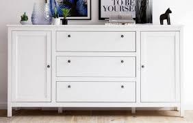 kommode sideboard weiß wohnzimmer schrank esszimmer anrichte 183 cm landhaus ole
