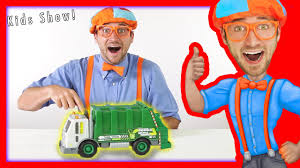 100 Garbage Truck Youtube Kids S For Kids Recycling And Dumping Trash With Blippi
