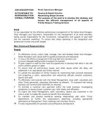 Corporate Finance Manager Job Description Template Resume Financial