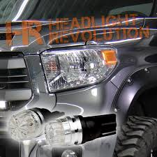 2014 2017 toyota tundra led front parking light bulb upgrade