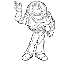 Toy Story Coloring Pages For Kids 1