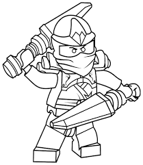 Ninjago Coloring Pages Free For Kids
