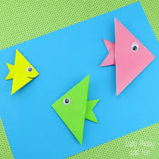Easy Origami For Kids Using A Paper Cute And Ori On How To Make D Star
