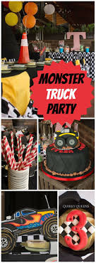 Monster Truck Party / Birthday