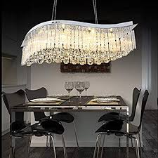 neue design oval kristall kronleuchter led modern lustre