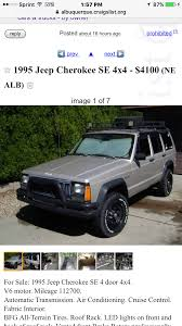100 Albuquerque Craigslist Cars And Trucks 1995 Jeep Cherokee Build On A High School Budget Jeep Cherokee Forum