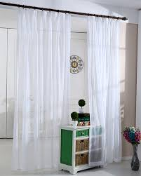 White Sheer Voile Curtains by Online Shop White Sheer Curtain Window Decoration High Thread