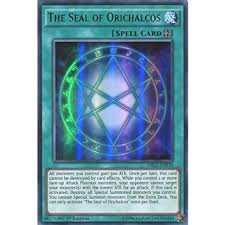 yugioh seal of orichalcos deck yugioh drl3 en070 1st ed the seal of orichalcos