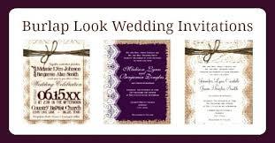 Burlap And Lace Wedding Invitations Cheap Rustic Australia