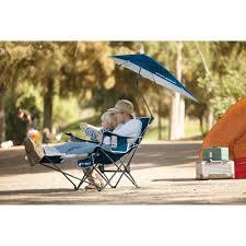 Kelsyus Canopy Chair Recall by Sport Brella Recliner Chair Midnight Blue Walmart Com