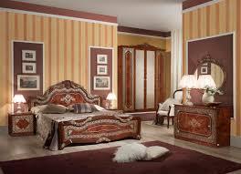 schlafzimmer set in walnuss klassisch design 180x200 cm mit schrank 4 t rig ohne kommode und spiegel ohne lattenrost yatego