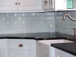 modern kitchen awesome gray glass subway tile kitchen backsplash