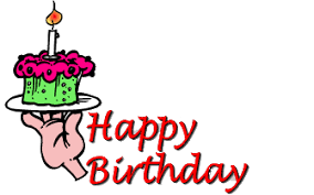 Free Animated Birthday Cards and Gifs Clipart and Happy Birthday Animations Page 3