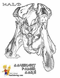 Heroic Halo 4 Coloring Pages
