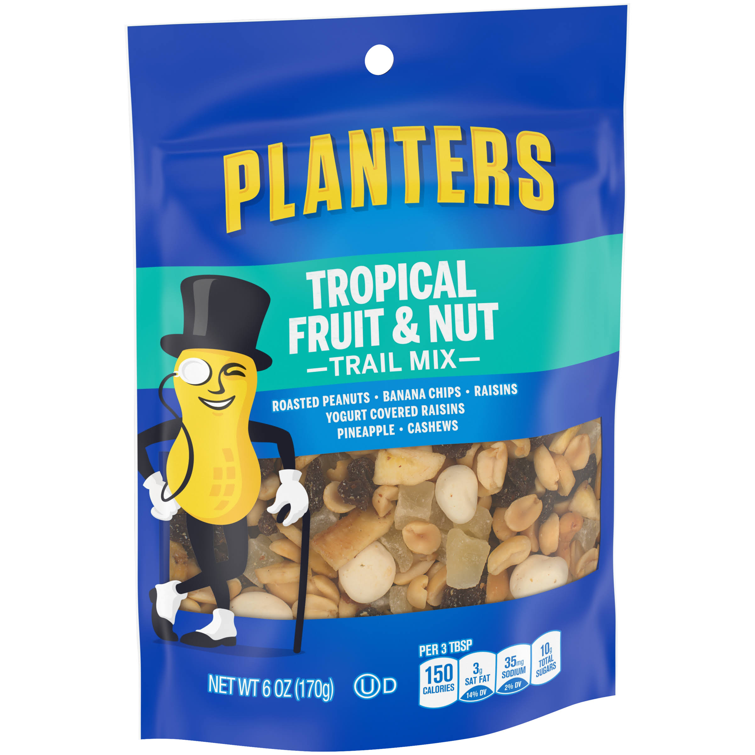 Planters Tropical Fruit & Nut Trail Mix