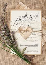 Burlap And Lace Invitation With A Touch Of Birch Bark For The Perfect Rustic Invite
