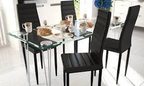 esszimmer glastisch mit 4 oder 6 stühlen 41 sparen