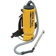 Dustless Technologies HEPA Pack Backpack Vacuum Cleaner for