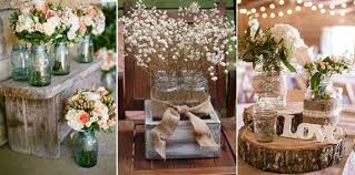 Rustic Wedding Decoration Mason Jars