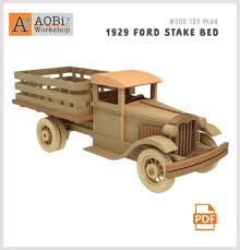 100 Wood Truck Bed Plans 1929 Ford Stake Plan Set How To Plan En Toys Toys