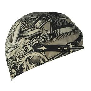 Zanheadgear 100 Cotton Flydanna Bandanna - Aces and Swords