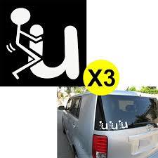 100 Cool Truck Stickers Xotic Tech 3pcs 6 Fk You Funny Match Man Die Cut For Drift