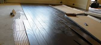 How To Install Plywood Subfloor On Concrete Slab Over Credit