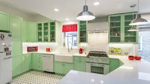Kitchen 50s Makeover Before And After