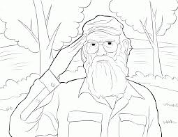 Duck Dynasty Coloring Pages 4
