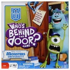 Amazon Who s Behind the Door Monster s University Edition