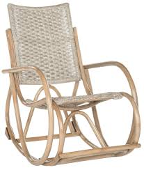 SEA8035A Rocking Chairs - Furniture By Safavieh Woven Rope Midcentury Modern Rocking Chair And Ottoman At 1stdibs Polywood Presidential Rocker With Seat Back Classic Outdoor Wicker Off The A Brief History Of One Americas Favorite Chairs Cracker Barrel Spring Haven Brown Allweather Patio Polywood Jefferson Recycled Plastic Cushions Accsories White Veranda Balcony Deck Porch Pool Beach Allen Roth Belsay Dark Steel Tortuga Portside Wickercom Solid Wood Fntiure