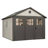 lifetime 8 x 17 5 storage shed storage storage buildings and