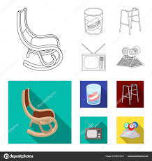 Denture, Rocking Chair, Walker, Old TV.Old Age Set ... Rocking Chair By Adigit Sketch At Patingvalleycom Explore Clipart Denture Walker Old Tvold Age Set Collection Pvc Pipe 13 Steps With Pictures Shop Monet Black And White Rocking Chair Walker Old Tvold Age Set Bradley Slat Patio Vector Clip Art Of A Catamart Isolated On White Background A Comfortable Illustration Silhouettes Of Home And Stock Image