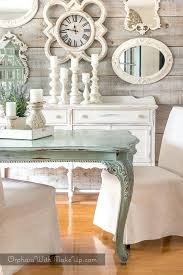 Painted Dining Room Table Best Tables Chairs Chalk Paint Ideas Images On Rooms Country