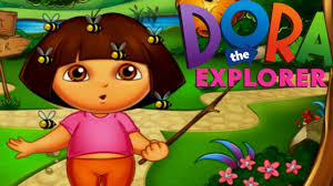 100 Dora High Chair Bee Sting Doctor The Explorer Game For Children YouTube