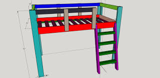 Loft Bed Woodworking Plans by Twin Size Loft Bed Free Woodworking Plans Forums