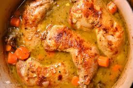 Braised Chicken Leg Quarters