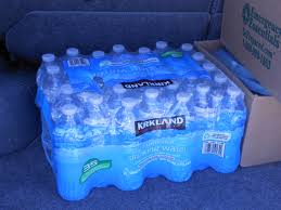 You Can A Couple Cases Of Bottled Water To Have On Hand Stick It