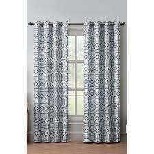 Eclipse Thermaback Curtains Target by Eclipse Dot Trellis Thermaback Light Blocking Curtain By