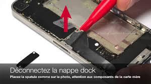 tutoriel iphone 4 remplacer la nappe power micro d ambiance