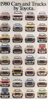 100 Corona Truck Sales 1980 Toyota Cars Trucks Sales Brochure Corolla Celica Land
