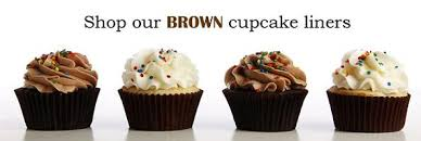 Brown Cupcake Liners Baking Cups What Sizes Do They Come In