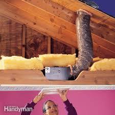 how to install a bathroom fan family handyman