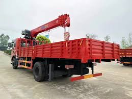 China 200kw Timber Loading Crane 6 Ton 8 Ton 10 Ton Truck With Crane ...