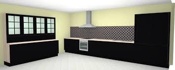 nobilia küche nr 749 lack schwarz matt im landhausstil